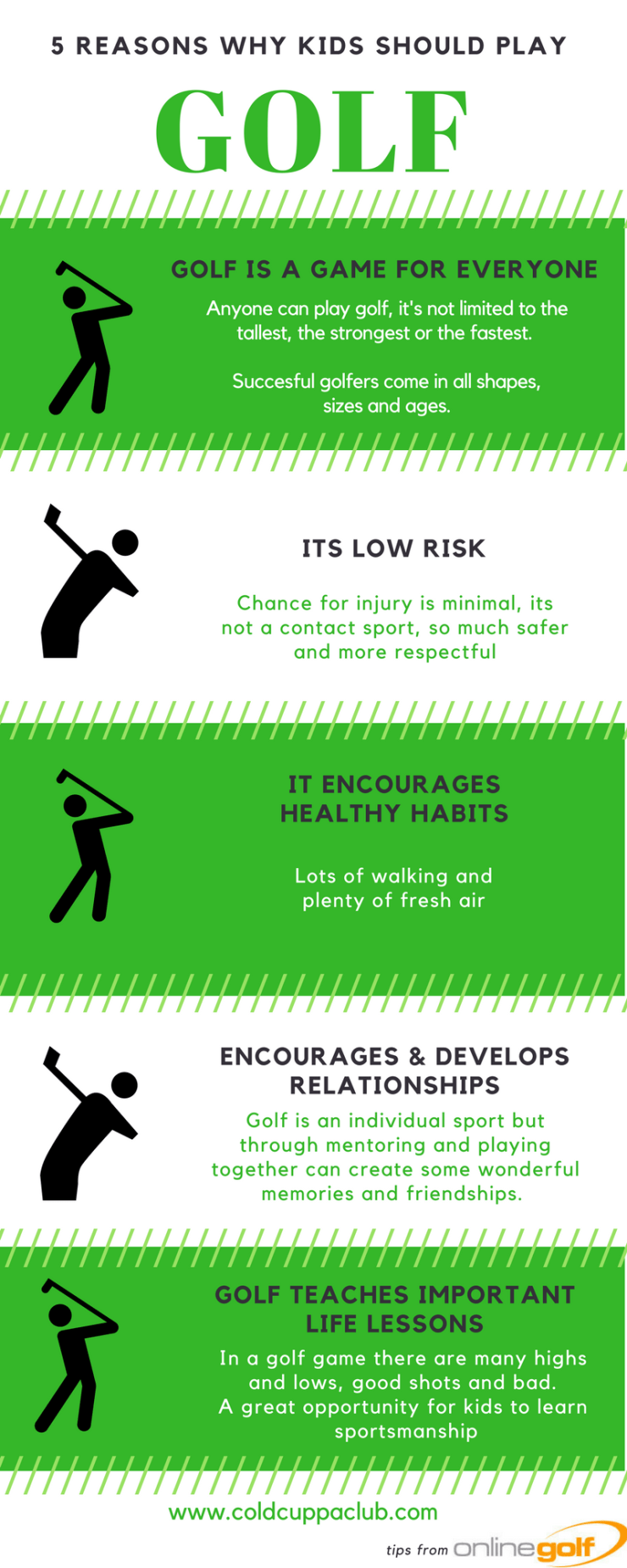 5 reasons your kids should play golf
