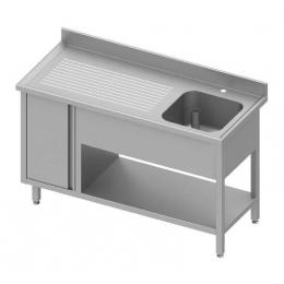 Table Inox Avec Bac De Lavage Colddistribution