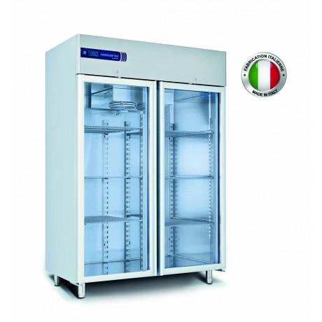 armoire refrigeree vitree negative 1200 l