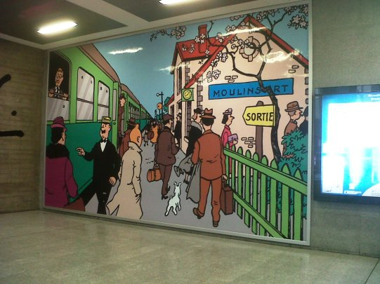 Leaving Brussels (2)