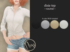 Neve Top - Dixie - Neutral