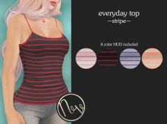 Neve Top - Everyday - Stripe
