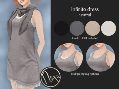Neve Dress - Infinite - Neutral