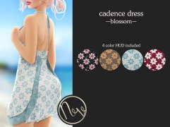 Neve Dress - Cadence - Blossom