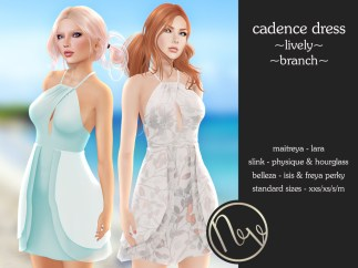 Neve Dress - Cadence - Lively + Branch