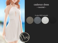 Neve Dress - Cadence - Neutral