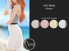 Neve Dress - Vivi - Linear