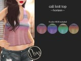 Neve Top - Cali Knit - Horizon
