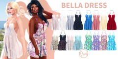 Neve - Bella Dress - All Colour