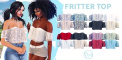 Neve - Fritter Top - All Colours