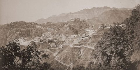 The Old Landour Rope Trick, Mussoorie, Ganesh Saili, 1860s, Hill Stations, Imperialism, Raj