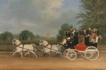 James_Pollard_-_The_London-Faringdon_Coach_passing_Buckland_House,_Berkshire
