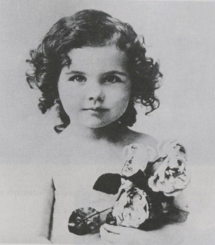 Vivien Leigh (when about 5 years old)