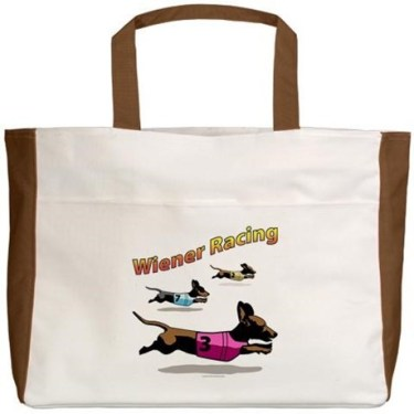 wiener_racing_beach_tote