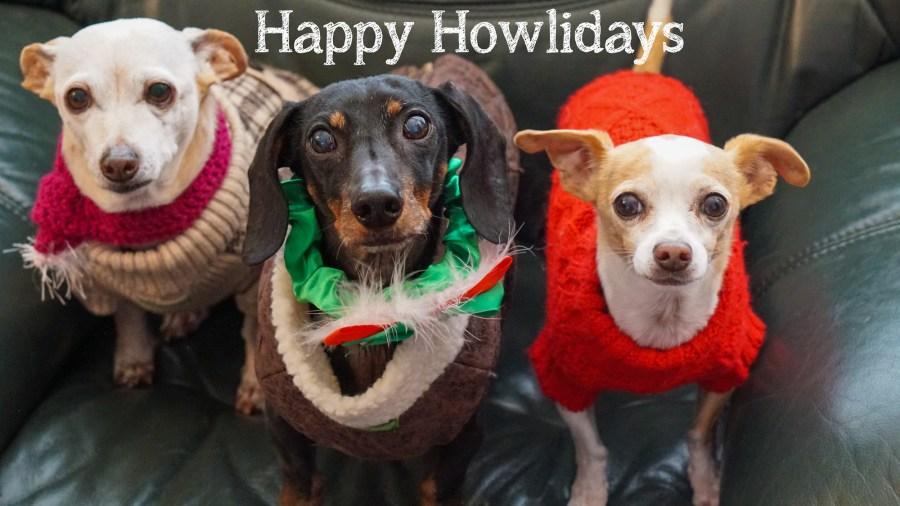 Happy Holidays, Happy Hanukkah,  </br> & Merry Christmas