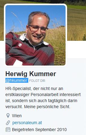 Herwig Kummer Twitter