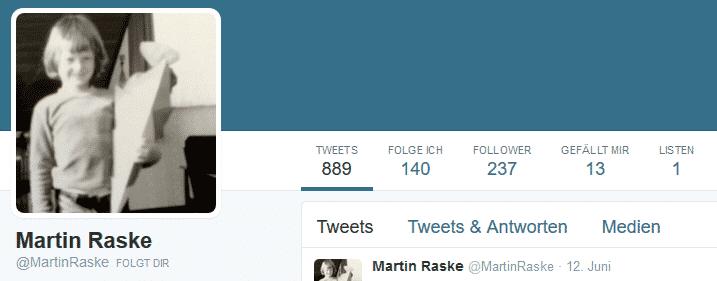 Martin Raske Twitter
