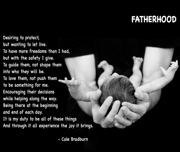 poetry from a father to his son