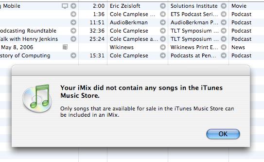 iMix Sorry