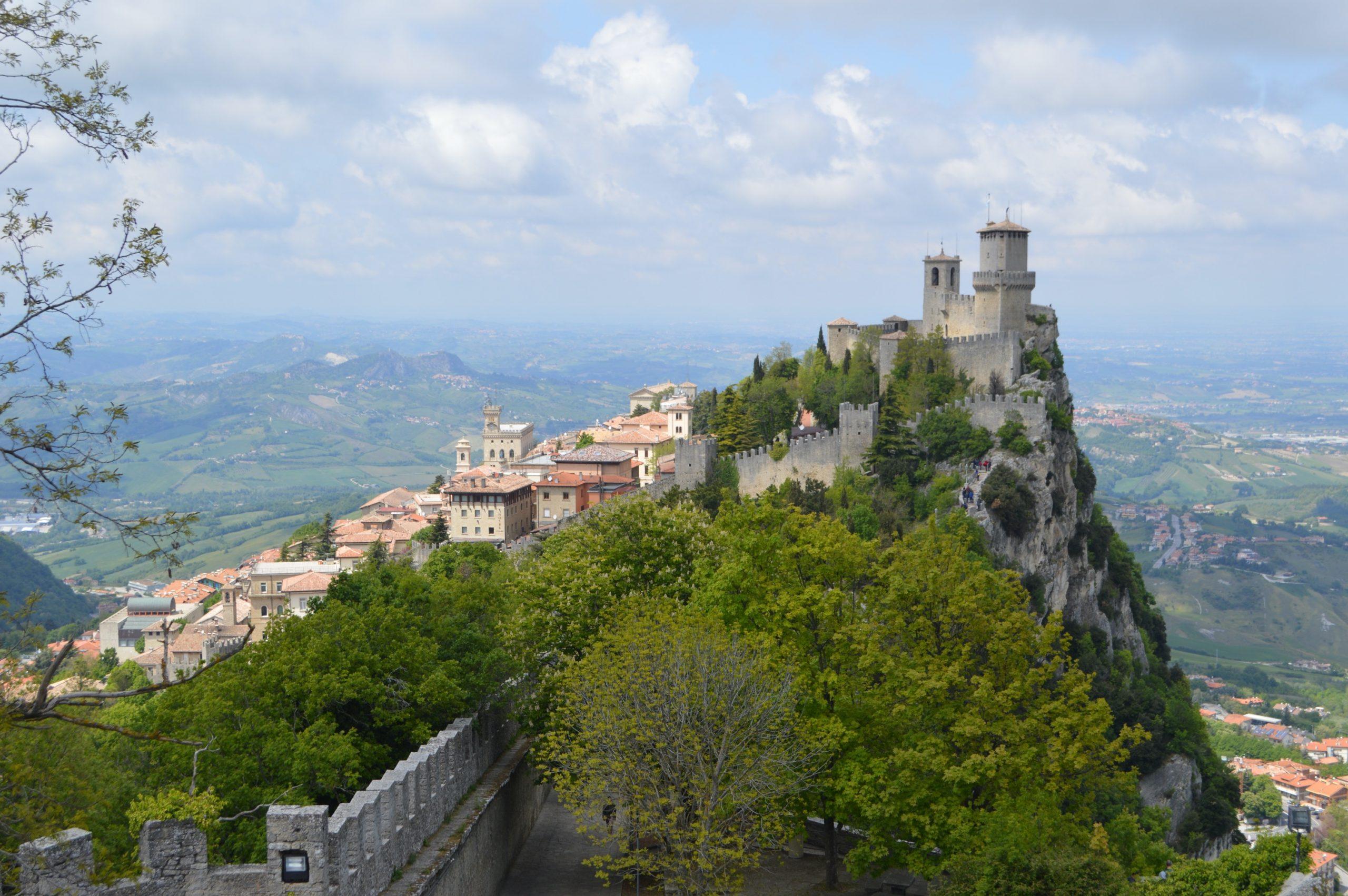 Vistas de Guaita desde Fratta