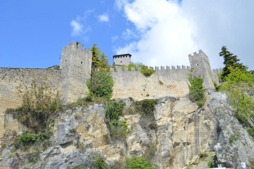 Guaita desde el camino de vuelta hacia el centro de San Marino