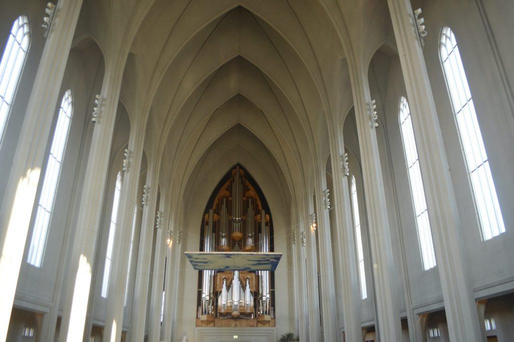 Inside of Hallgrímskirkja