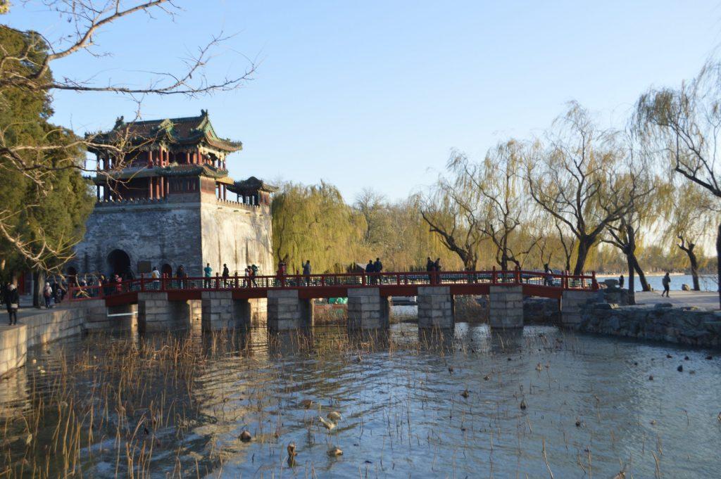 Vistas al Pabellón de Wenchang