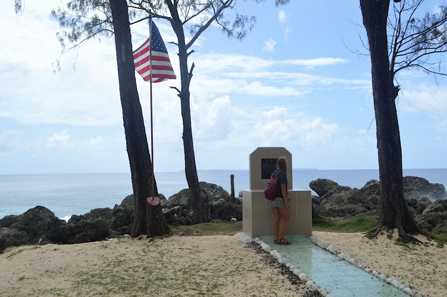 Monumento a los marines y soldados americanos
