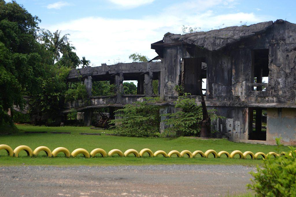 Centro de comunicaciones japonés de la Segunda Guerra Mundial
