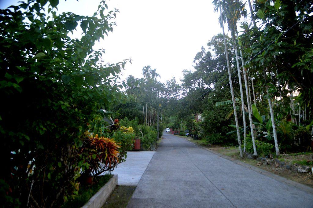 Calle secundaria de Koror