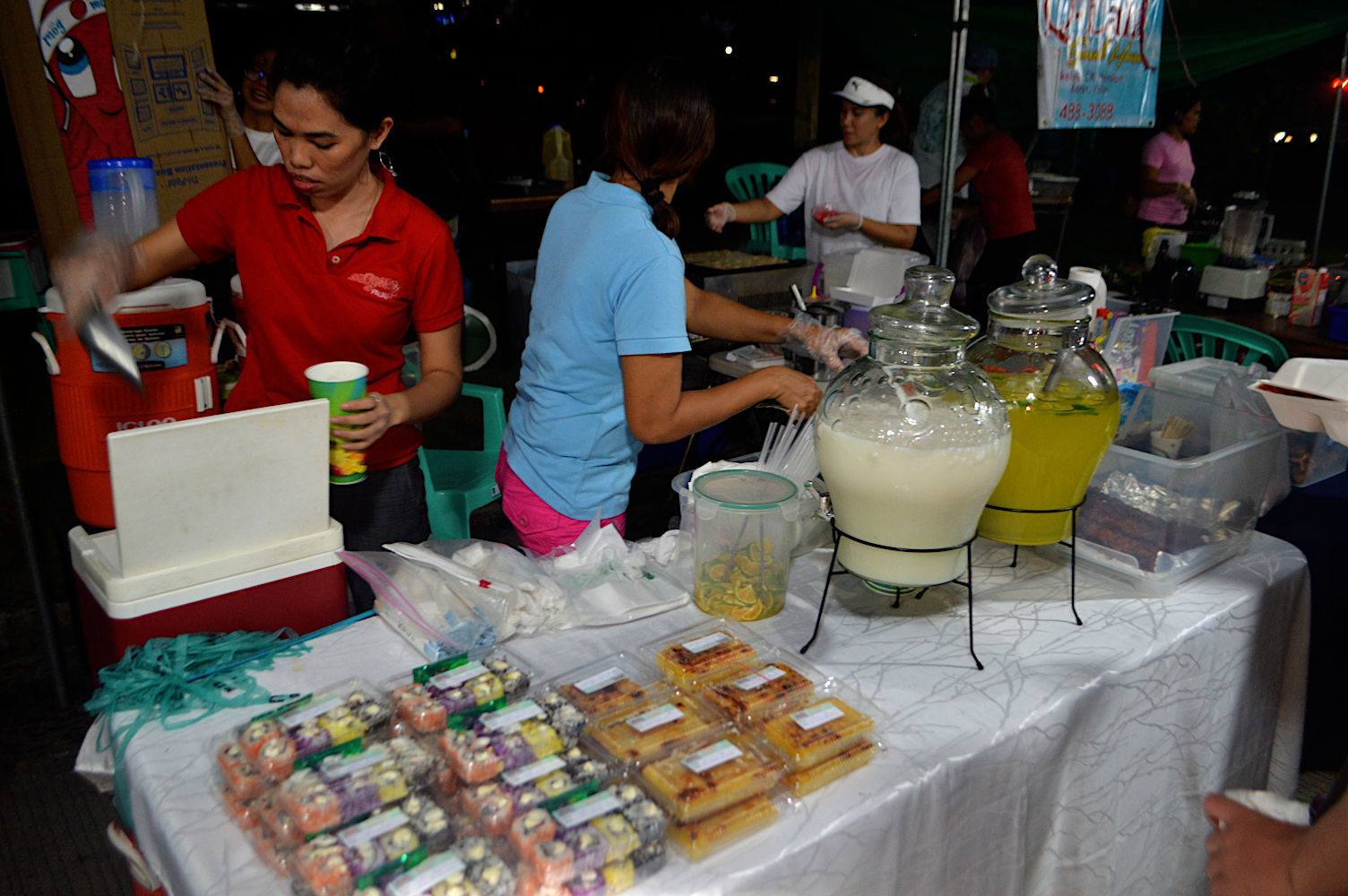 Mercado nocturno de Palaos