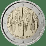 Moneda Conmemorativa de 2 Euros de España 2010 - Centro Histórico de Córdoba