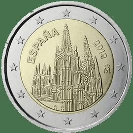 Moneda Conmemorativa de 2 Euros de España 2012 - Catedral de Burgos