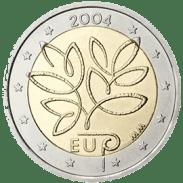 Moneda Conmemorativa de 2 Euros de Finlandia 2004 - Ampliación de la UE de 2004