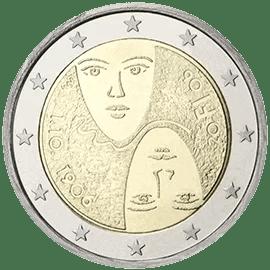 Moneda Conmemorativa de 2 Euros de Finlandia 2006 -Centenatrio del Sufragio Universal e Igualitario
