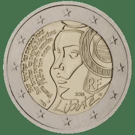 Moneda Conmemorativa de 2 Euros de Francia 2015 - 225 Años de la Fiesta de la Federación