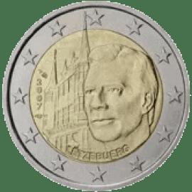 Moneda Conmemorativa de 2 Euros de Luxemburgo 2007 - Palacio Gran Ducal