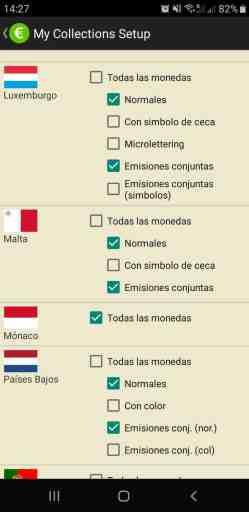 Opciones de Configuración para las Monedas Conmemorativas en EURik