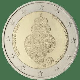 Moneda Conmemorativa de 2 Euros de Portugal 2016 - Equipo Olímpico de Portugal en los Juegos Olímpicos de Rio 2016