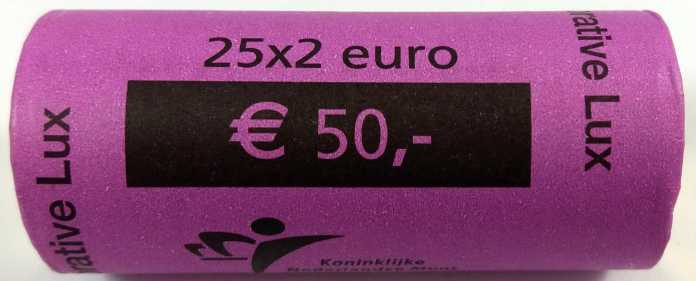 Rollo Luxemburgo 2004 2 Euros Conmemorativos Monograma