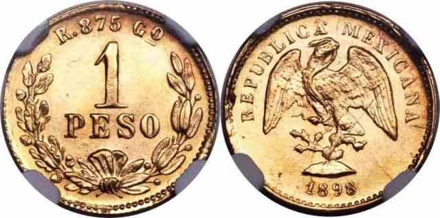 1 Peso de Oro de México de 1898, Moneda Híbrida