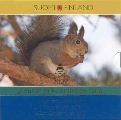 Cartera Recopilatoria 2 euros Finlandia 2009
