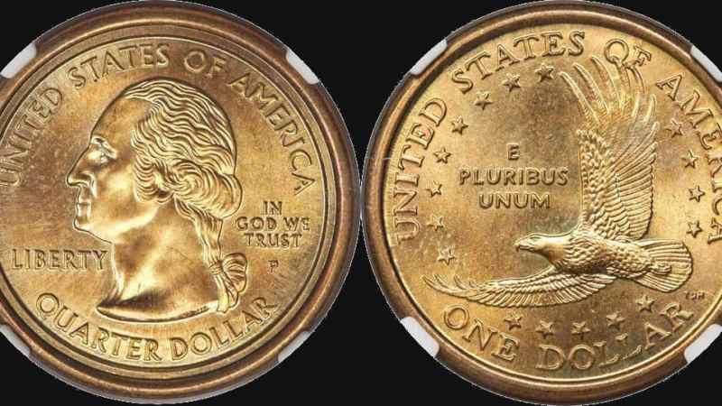 Moneda Hibrida 1 Dolar-State Quarter