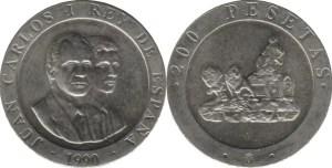 200 pesetas 1990