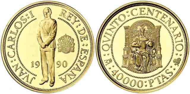 España - 40000 pesetas 1990 FDC