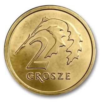 Polonia, 2 Grosze Serie 2014, Reverso