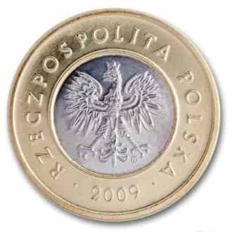 Polonia, 2 Zlote Serie 1995, Anverso