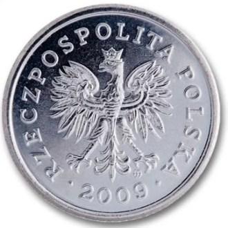 Polonia, 20 Groszy Serie 1995, Anverso