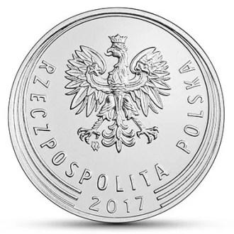 Polonia, 20 Groszy Series 2017-2020, Anverso
