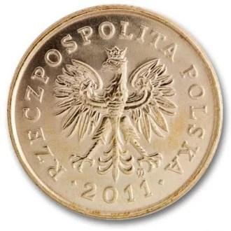 Polonia 5 Groszy Serie 1995 Anverso
